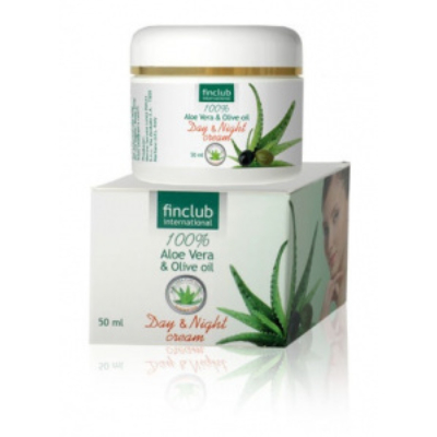 Aloe Vera és Olíva olaj Day & Night Cream (éjszakai és nappali arckrém)